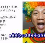 Học cách phát âm chữ cái tiếng Việt