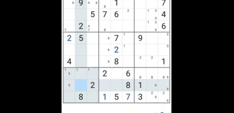 Giải trí và luyện trí nhớ bằng trò chơi Sudoku 20200212