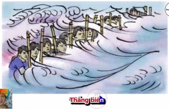 Lớp 4 – Thắng biển