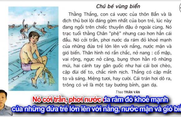 Chú bé vùng biển – Lớp 5 – Tuần 12 – Trang 130