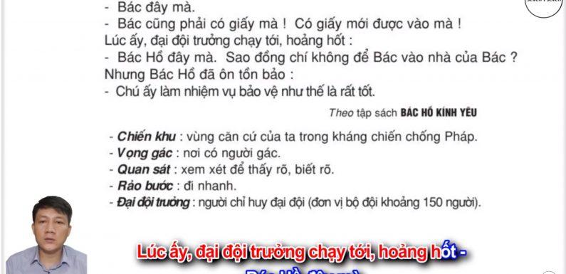 Bảo vệ như thế là rất tốt – Lớp 2 – Tuần 31 – Trang 113 – Tiếng Việt 2 tập 2