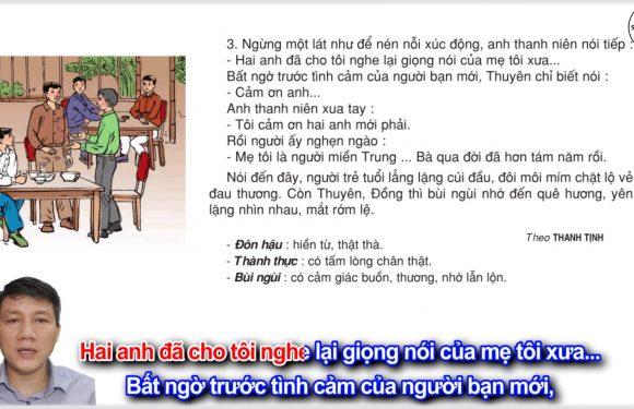 Giọng quê hương – Lớp 3 – Tuần 10 – Trang 76 – Tiếng Việt 3 tập 1