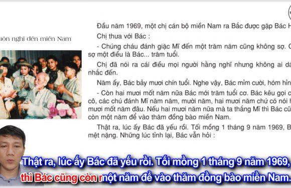 Luôn nghĩ đến miền Nam – Lớp 3 – Tuần 12 – Trang 100 – Tiếng Việt 3 tập 1