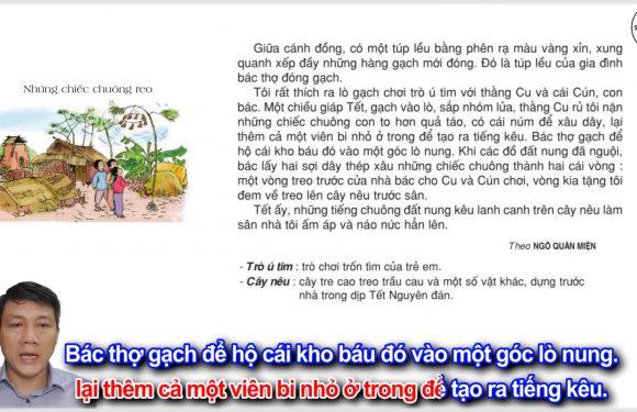Những chiếc chuông reo – Lớp 3 – Tuần 8 – Trang 67 – Tiếng Việt 3 tập 1