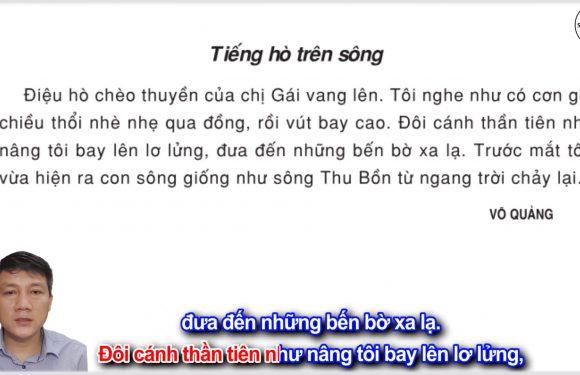 Tiếng hò trên sông – Lớp 3 – Tuần 11 – Trang 87 – Tiếng Việt 3 tập 1