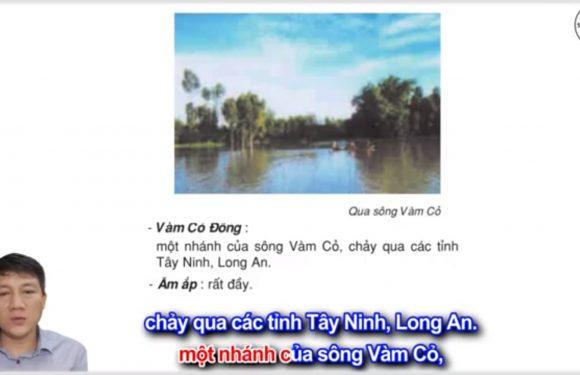 Vàm Cỏ Đông – Lớp 3 – Tuần 13 – Trang 106 – Tiếng Việt 3 tập 1