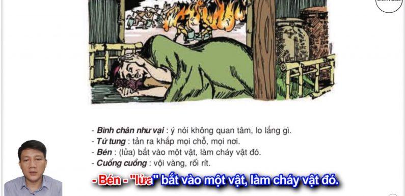 Cháy nhà hàng xóm – Lớp 2 – Tuần 34 – Trang 139 – Tiếng Việt 2 tập 2