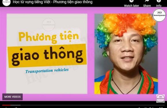 Học từ vựng tiếng Việt – Phương tiện giao thông