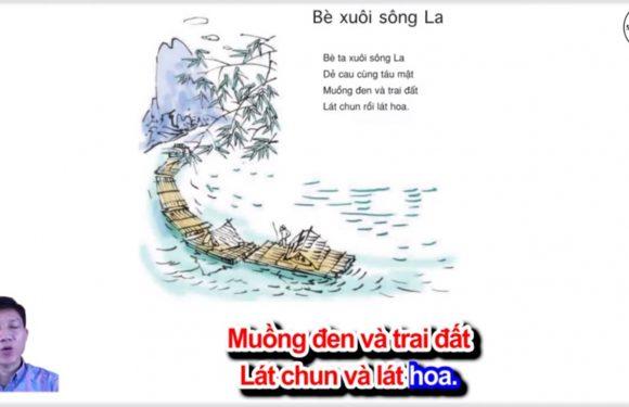 Bè xuôi sông La – Lớp 4 – Tuần 21 – Bài 2