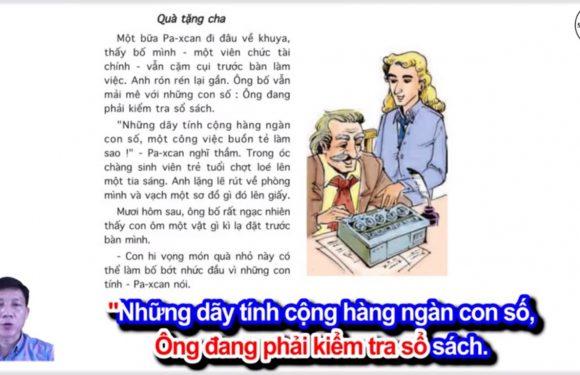 Quà tặng cha – Lớp 4 – Tuần 23 – Bài 2