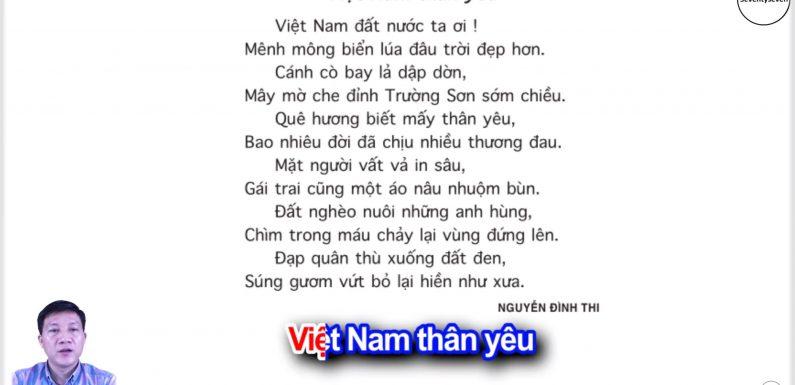 Việt Nam thân yêu – Lớp 5 – Tuần 1 – Bài 2 – Trang 6