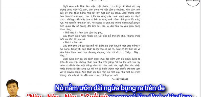 Người thợ rèn – Lớp 5 – Tuần 12 – Trang 123