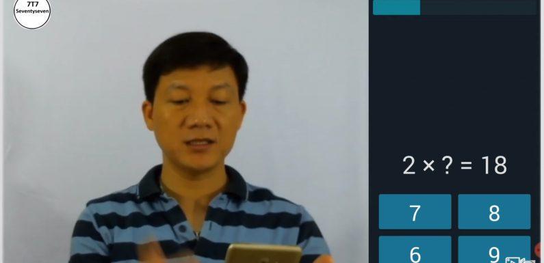 QuickBrain – Ứng dụng giúp học toán dễ hơn và vui hơn. Đặc biệt luyện cửu chương dễ dàng