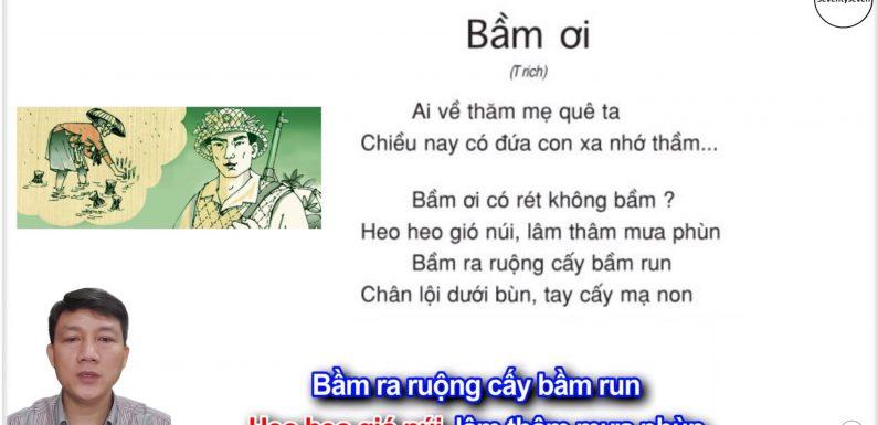 Bầm ơi – Lớp 5 – Tuần 31 – Trang 130 – SGK Tiếng Việt 5 tập 2