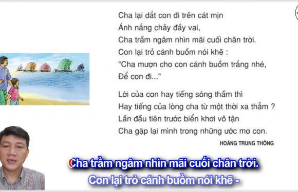 Những cánh buồm – Lớp 5 – Tuần 32 – Trang 140 – SGK Tiếng Việt 5 tập 2