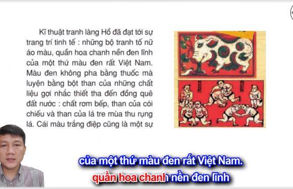 Tranh làng Hồ – Lớp 5 – Tuần 27 – Trang 88 – SGK Tiếng Việt 5 tập 2