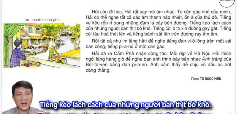 Âm thanh thành phố – Lớp 3 – Tuần 17 – Trang 146 – Tiếng Việt 3 tập 1