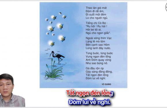 Anh Đom Đóm – Lớp 3 – Tuần 17 – Trang 143 – Tiếng Việt 3 tập 1