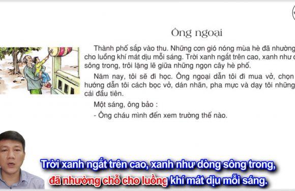 Ông ngoại – Lớp 3 – Tuần 4 – Trang 34 – Tiếng Việt 3 tập 1