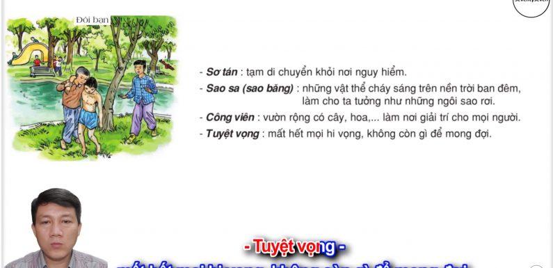 Đôi bạn – Lớp 3 – Tuần 16 – Trang 130 – Tiếng Việt 3 tập 1