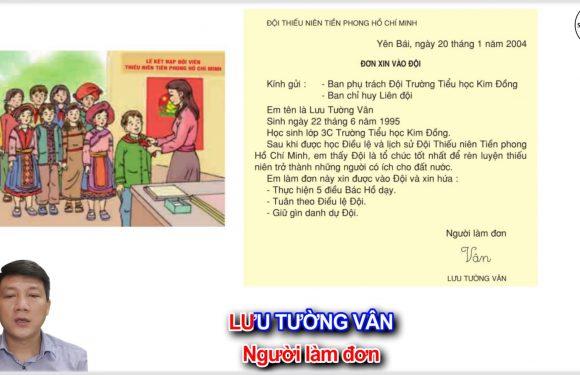 ĐỘI THIẾU NIÊN TIỀN PHONG HỒ CHÍ MINH – Lớp 3 – Tuần 1 – Trang 9 – Tiếng Việt 3 tập 1