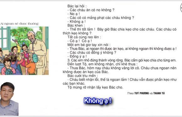 Ai ngoan sẽ được thưởng – Lớp 2 – Tuần 30 – Trang 100 – Tiếng Việt 2 tập 2