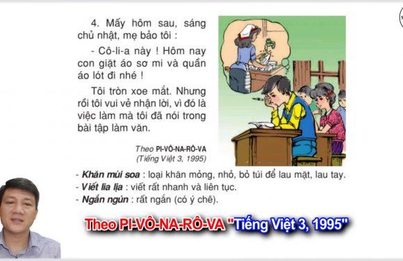 Bài tập làm văn – Lớp 3 – Tuần 6 – Trang 46 – Tiếng Việt 3 tập 1