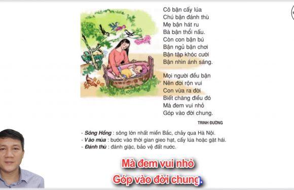 Bận – Lớp 3 – Tuần 7 – Trang 59 – Tiếng Việt 3 tập 1