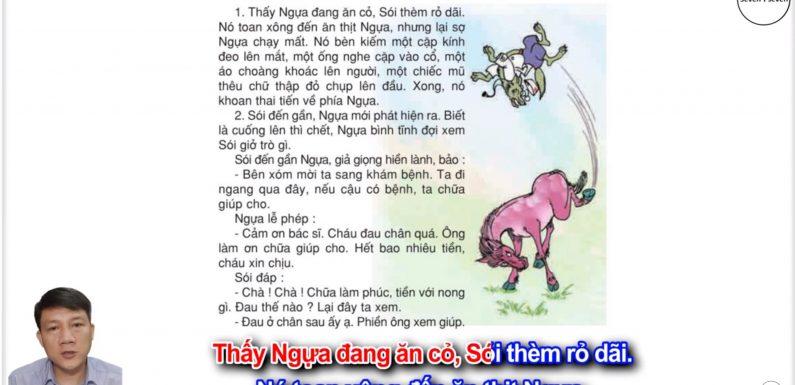 Bác sĩ Sói – Lớp 2 – Tuần 23 – Trang 41 – Tiếng Việt 2 tập 2