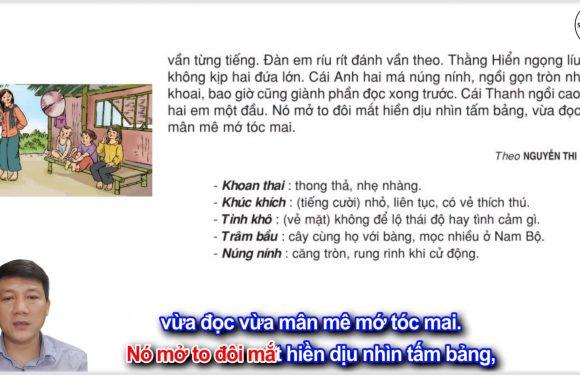 Cô giáo tí hon – Lớp 3 – Tuần 2 – Trang 17 – Tiếng Việt 3 tập 1