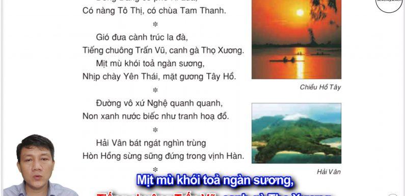 Cảnh đẹp non sông – Lớp 3 – Tuần 12 – Trang 97 – Tiếng Việt 3 tập 1