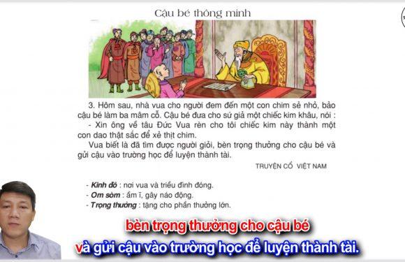 Cậu bé thông minh – Lớp 3 – Tuần 1 – Trang 4 – Tiếng Việt 3 tập 1