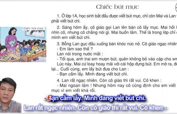 Chiếc bút mực – Lớp 2 – Tuần 5 – Trang 41 – Tiếng Việt 2 tập 1