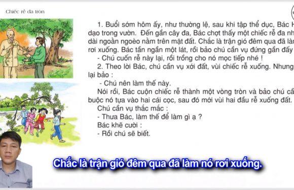 Chiếc rễ đa tròn – Lớp 2 – Tuần 31 – Trang 107 – Tiếng Việt 2 tập 2