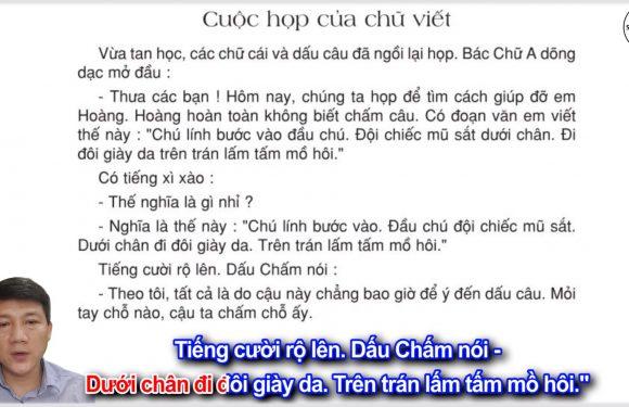 Cuộc họp của chữ viết – Lớp 3 – Tuần 5 – Trang 44 – Tiếng Việt 3 tập 1