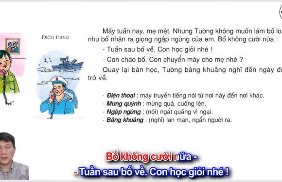 Điện thoại – Lớp 2 –  Tuần 12 – Trang 98 – Tiếng Việt 2 tập 1