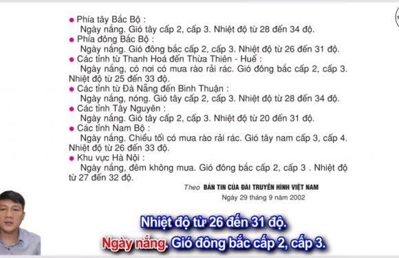 Dự báo thời tiết – Lớp 2 – Tuần 25 – Trang 63 – Tiếng Việt 2 tập 2