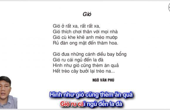 Gió – Lớp 2 – Tuần 20 – Trang 16 – Tiếng Việt 2 tập 2