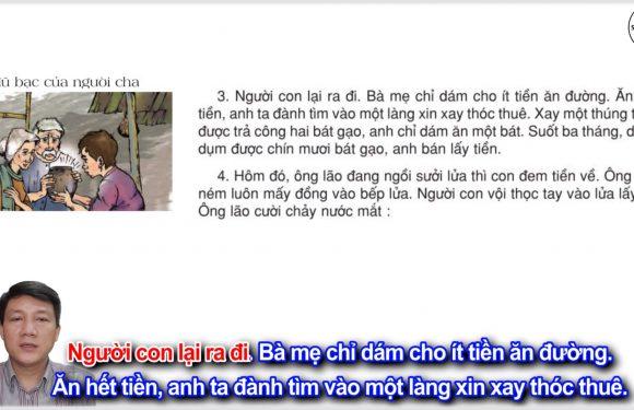 Hũ bạc của người cha – Lớp 3 – Tuần 15 – Trang 121 – Tiếng Việt 3 tập 1