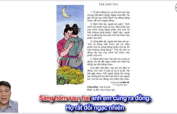 Hai anh em – Lớp 2 – Tuần 15 – Trang 119 – Tiếng Việt 2 tập 1