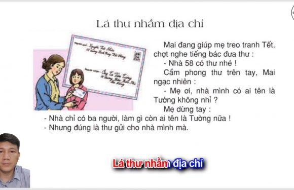 Lá thư nhầm địa chỉ – Lớp 2 – Tuần 19 – Trang 07 – Tiếng Việt 2 tập 2