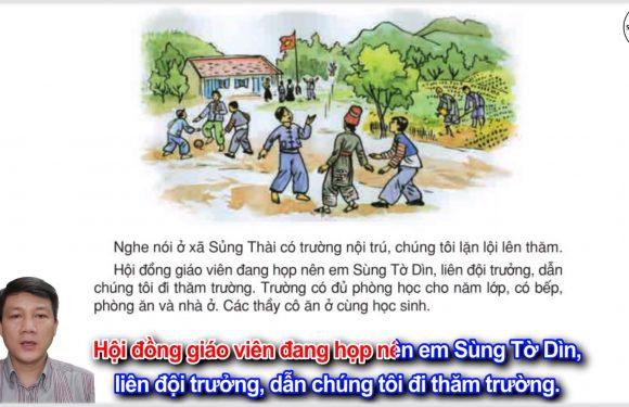 Một trường tiểu học vùng cao – Lớp 3 – Tuần 14 – Trang 118 – Tiếng Việt 3 tập 1