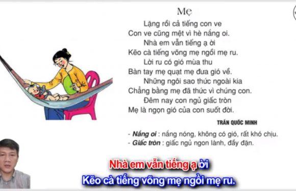 Mẹ – Lớp 2 – Tuần 12 – Trang 101 – Tiếng Việt 2 tập 1