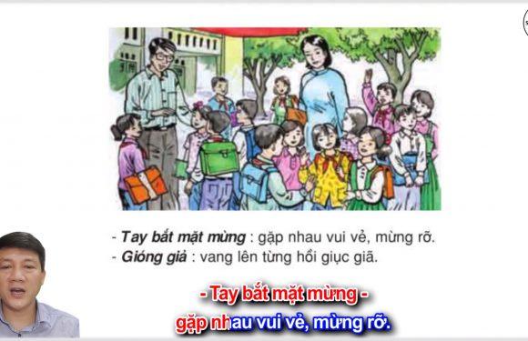 Ngày khai trường – Lớp 3 – Tuần 6 – Trang 49 – Tiếng Việt 3 tập 1