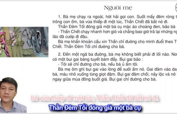 Người mẹ – Lớp 3 – Tuần 4 – Trang 29 – Tiếng Việt 3 tập 1