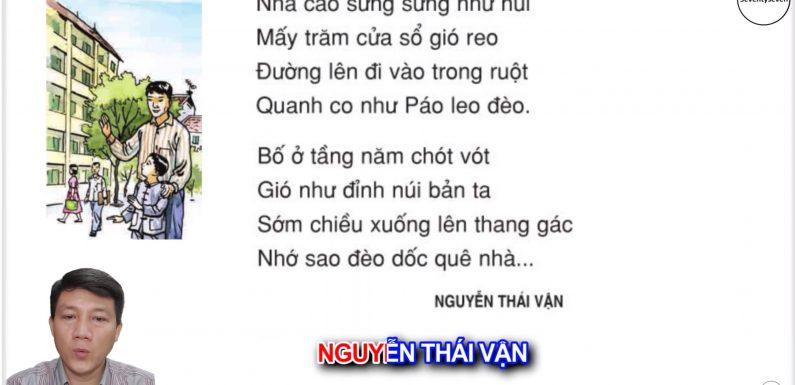 Nhà bố ở – Lớp 3 – Tuần 15 – Trang 124 – Tiếng Việt 3 tập 1