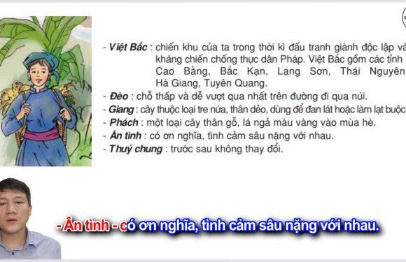 Nhớ Việt Bắc – Lớp 3 – Tuần 14 – Trang 115 – Tiếng Việt 3 tập 1