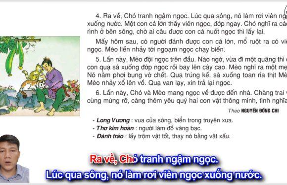 Tìm ngọc – Lớp 2 – Tuần 17 – Trang 138 – Tiếng Việt 2 tập 1