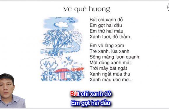Vẽ quê hương – Lớp 3 – Tuần 11 – Trang 88 – Tiếng Việt 3 tập 1