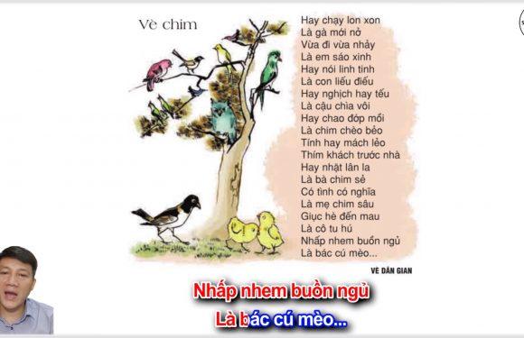 Vè chim – Lớp 2 – Tuần 21 – Trang 28  -Tiếng Việt 2 tập 2